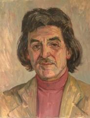 Wim Ibo door Ronald Terpstra portretschilder